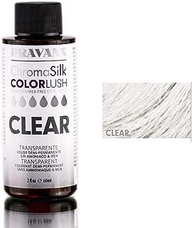 Pravana ChromaSilk ColorLush Color Boost - Clear / 2 oz