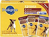 Pedigree Little Champions Meaty Ground Beef Variety Pack Wet Dog Food 5.3 Ounces (Pack Of 12)