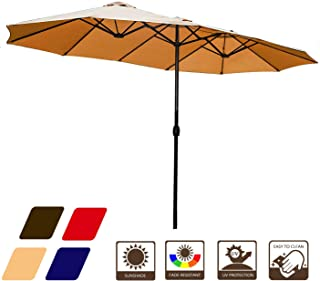 Best solar led cantilever umbrella Reviews
