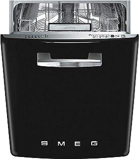 Smeg ST2FABBL Totalmente integrado 13cubiertos A+++ lavavajilla - Lavavajillas (Totalmente integrado, Tamaño completo (60 cm), Botones, LED, Acero inoxidable, 13 cubiertos)