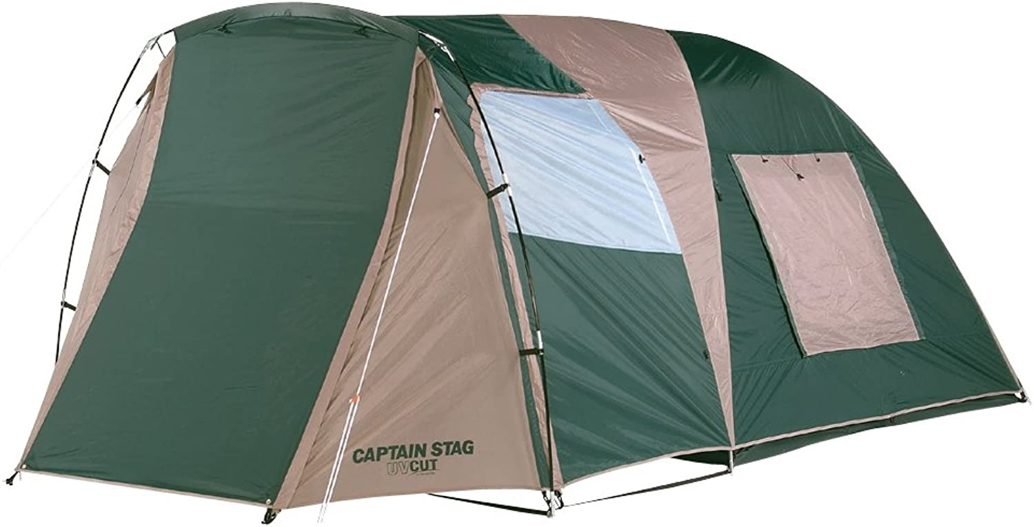 CAPTAIN STAG CS 2 room dome carry with bag (for 34 people) M3133