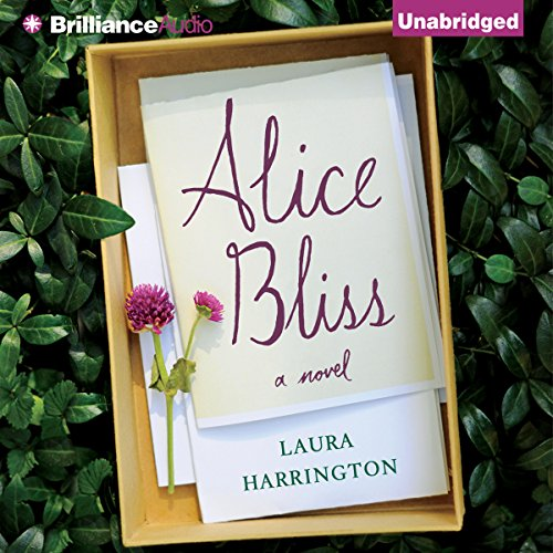Alice Bliss     A Novel               By:                                                                                                                                 Laura Harrington                               Narrated by:                                                                                                                                 Kate Rudd                      Length: 9 hrs and 34 mins     17 ratings     Overall 3.8
