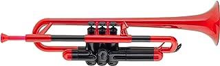 pBone PTRUMPET1R Plastic Trumpet, Red