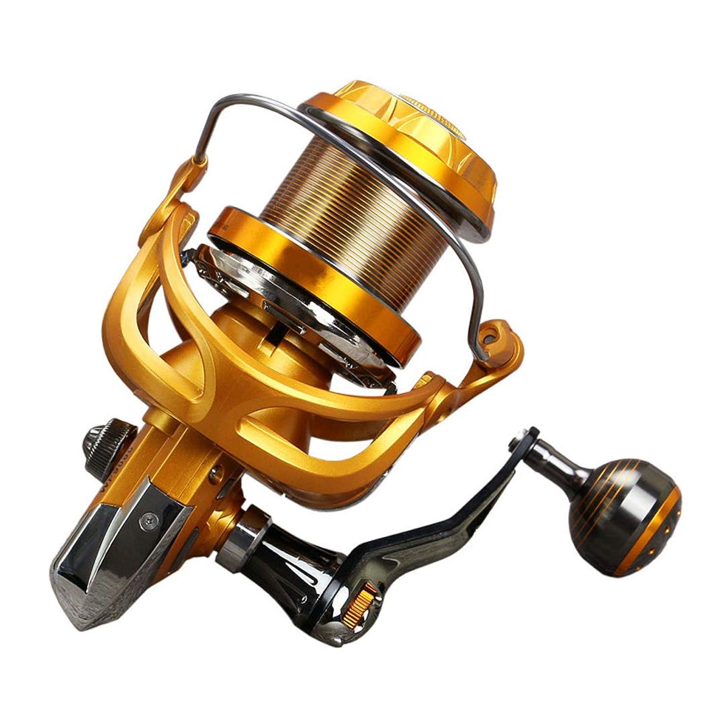 ぶどう見物人証書スピニングリール?5.1:1の比率の塩と淡水釣り?マッチゲーム釣りスピニングコイパイク