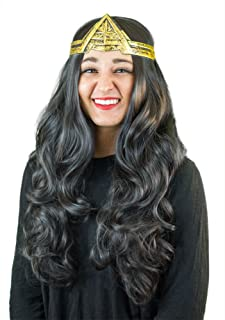 My Costume Wigs Wonder Woman Wig Crown