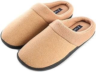 Unisex Memory Foam Slipper|Women's Cozy Slippers|Fuzzy Wool-Like Fleece House Shoes| Man's Indoor Outdoor Comfy Slippers