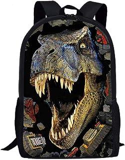 Nopersonality Mochila para niños y niñas, mochila escolar, moderna con estampado de animales