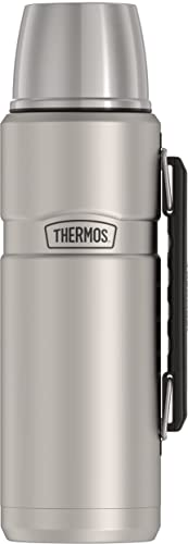 new arrival THERMOS Stainless King Vacuum-Insulated outlet sale Beverage Bottle, 40 new arrival Ounce, Matte Steel online