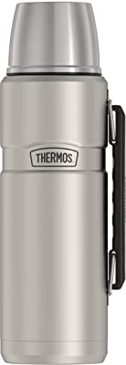 Thermos [USA版] Stainless King ボトル 40-Ounce 約1.2リットル (Stainless Steel)