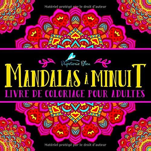 Cahier de Mandalas pour adulte