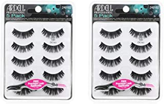 Ardell False Eyelashes Natural 101 Black, 2 pack (5 pairs per pack)