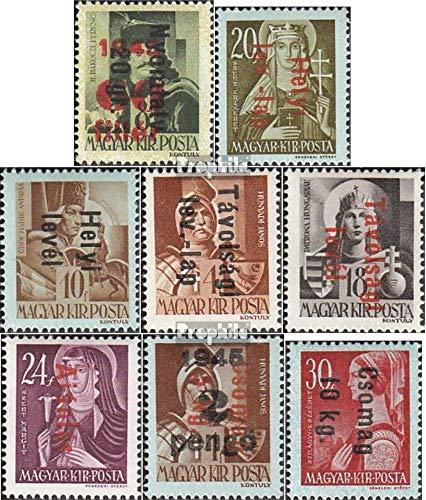 Prophila Collection Ungarn 870-877 (kompl.Ausg.) 1946 Freimarken (Briefmarken für Sammler)
