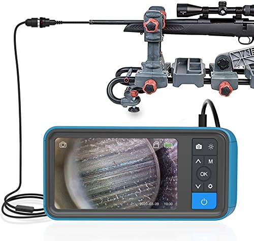 Teslong Rifle Borescope with 4.5'' Screen, 0.2inch Gun Cleaning Camera Fits .20 Caliber & Larger Hunting Shooting Fir...
