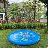"Satkago 68"" Sprinkler Pad Sprinkler for Kids , Water Play Mat Splash Play"