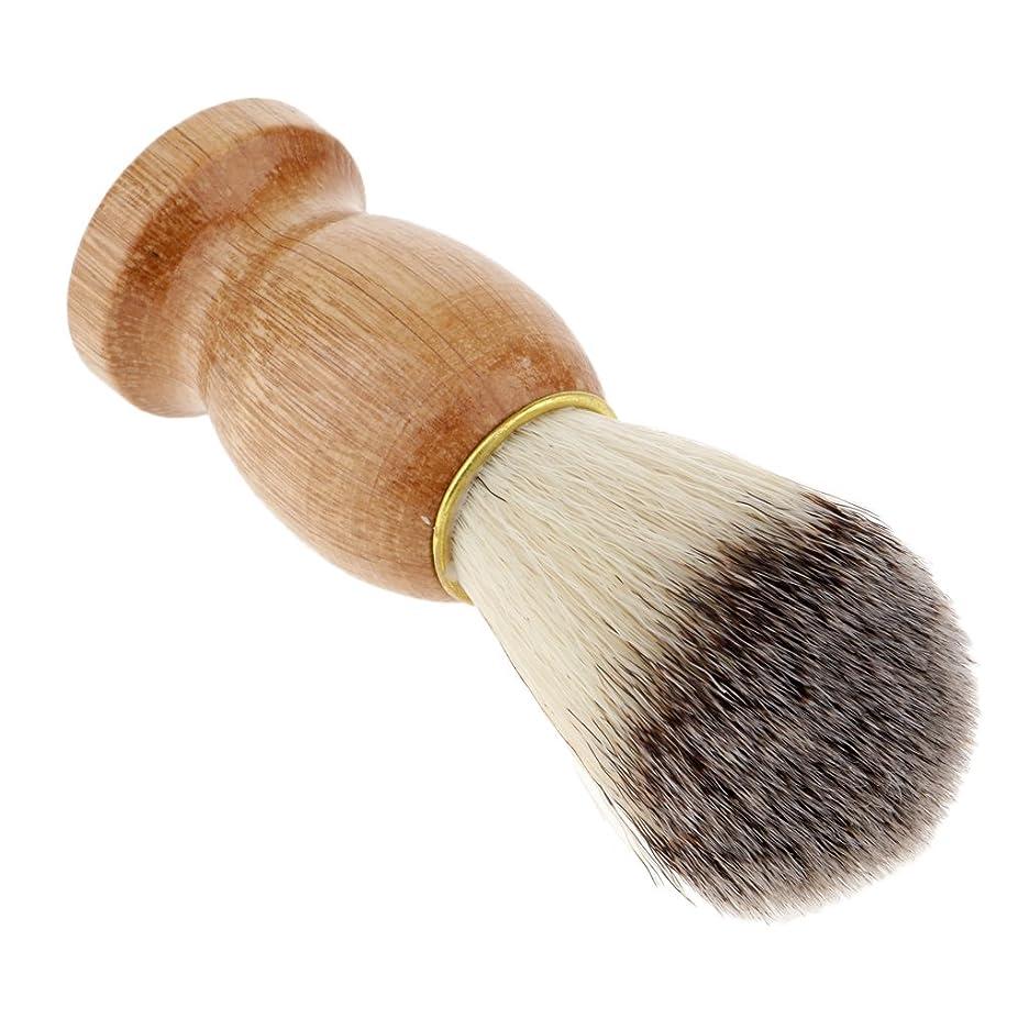 履歴書小麦粉病院人毛ひげの切断の塵の浄化のための木製のハンドルの剛毛の剃るブラシ