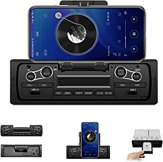 $26 » Hikity Single Din Car Stereo Bluetooth Audio Systems FM Radio Receiver Hands-Free Calling, Built-in Microphone, in-Dash MP...