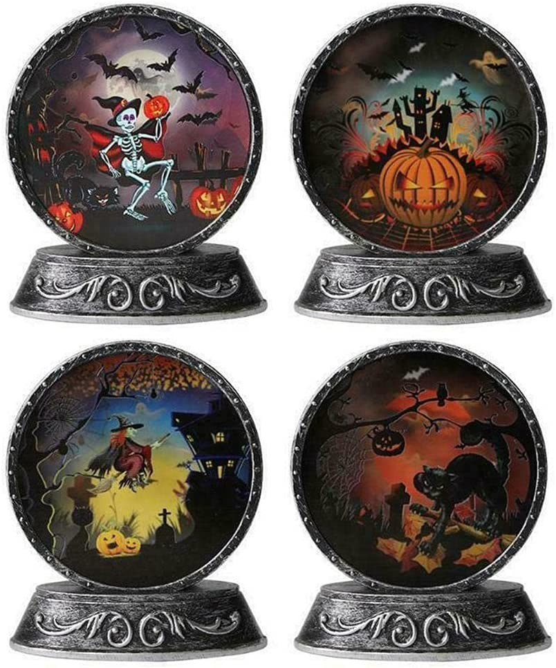 BVGFCDW Popular brand Bronze Mirror Lamp Pumpkin $ Skeleton Halloween Long Beach Mall