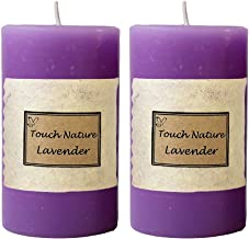 Touch Nature Double Aromatherapy Candles (Lavender)
