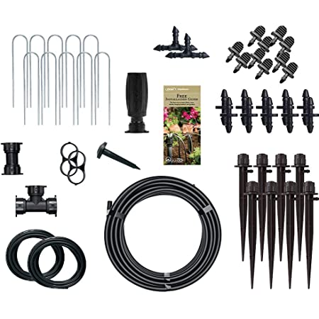 Drip Irrigation Multi-Stream Emitters on Stake Orbit 2 Pack 5 Pack 10 Total Emitters