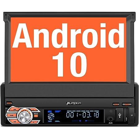 Pumpkin Android 10 Autoradio 1 Din Radio Mit Navi Elektronik