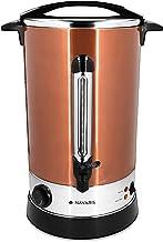 Navaris glühwein kooktoestel warm water dispenser roestvrij staal - 20l - met thermostaat vulstand kraan - glühwein warme ...