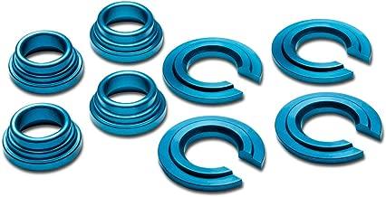 For Nissan 240SX/300ZX/Maxima Aluminum Subframe Tie Bar Bushing Collar Spacer Kit (Blue) - S13 S14 Z32 J30