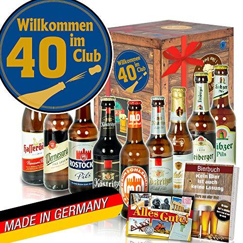 Wilkommen im Club 40 ++ DDR Biere ++ Geschenke zum 40 Geburtstag
