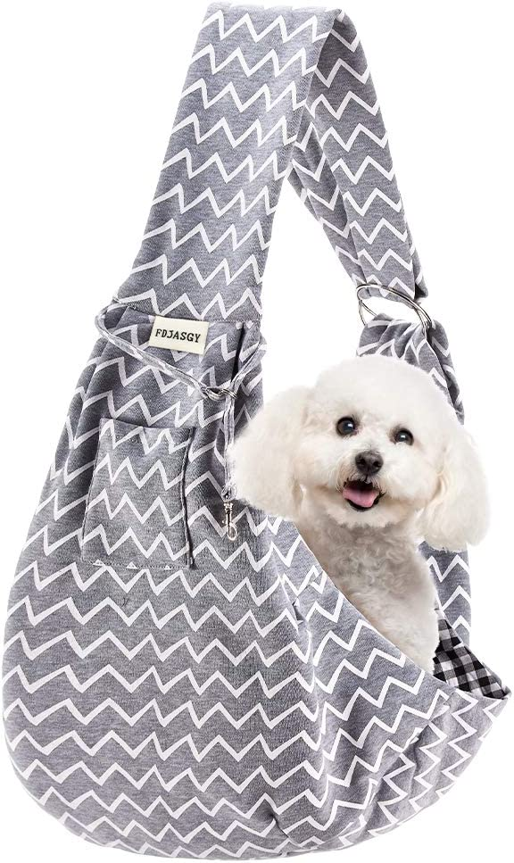 Max 57% OFF FDJASGY Small Pet Sling In a popularity Papoos Reversible Carrier-Hands Free