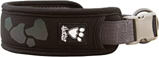 Hurtta Weekend Warrior Dog Collar, Raven, 10-14 in