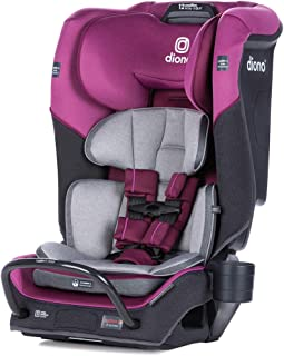 Diono Radian 3QX 4-in-1 Rear & Forward Facing Convertible Car Seat | Safe+ Engineering 3 Stage Infant Protection, 10 Years...