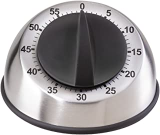 Oggi Countdown Stainless Steel 60-Minute Kitchen Timer