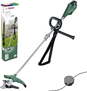 comprar comparacion Bosch AFS 23-37 - Desbrozadora (cuchilla de 3 hojas, bobina para hilos de corte, 3 hilos de corte, empuñadura adicional, c...