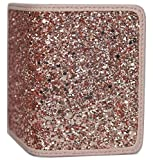 Birth Control Pill Case/Wallet - Glitter Rose Gold - Cute and Discreet 4' x 3'