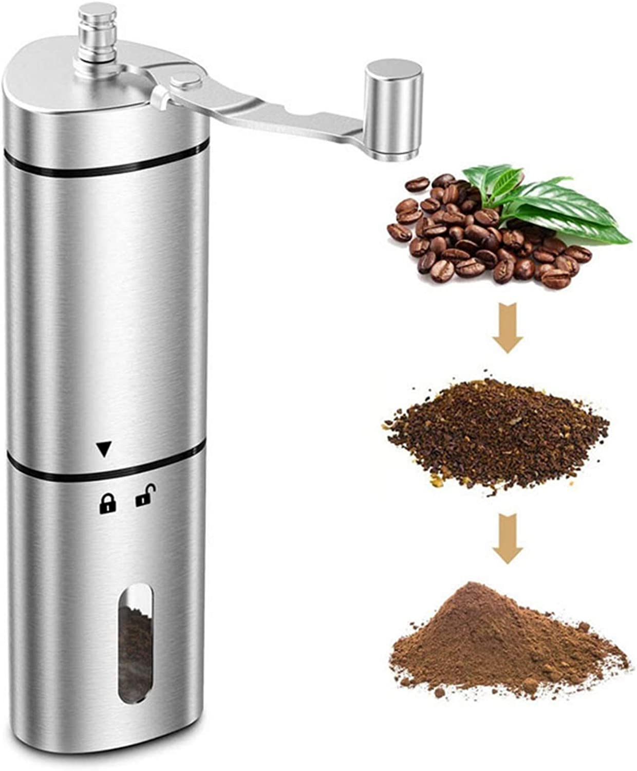 Manual Cheap SALE Start Coffee Grinder with Ceramic Triangle Core Grinding trend rank Porta