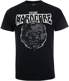 100% Hardcore T-Shirt Rage | Black Gabber Techno Partyoutfit