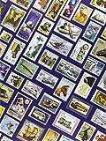Briefmarken Einsteckbuch HOBBY, 16 weiße Seiten, Einband mit Breifmarkenmotiven, DIN A 4...