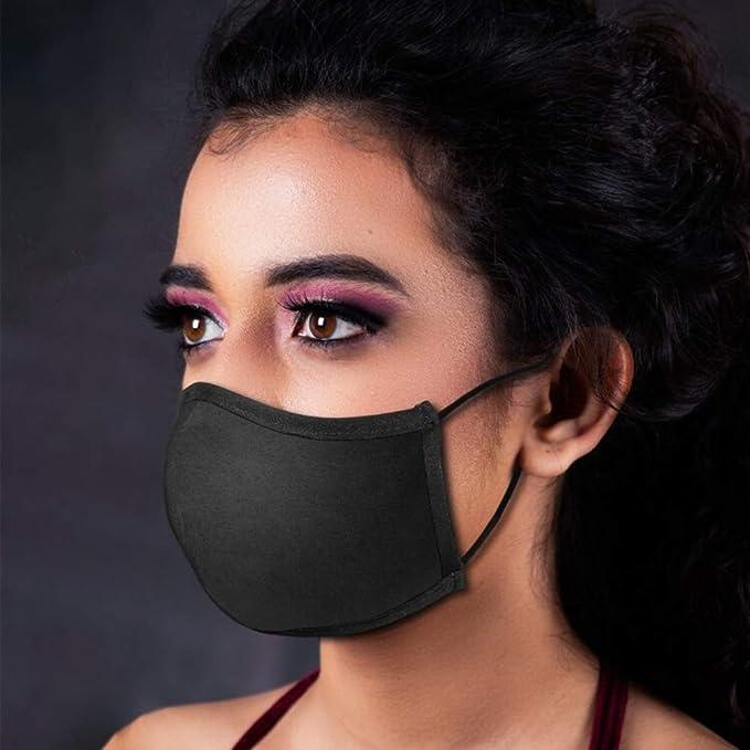 A Maxpex Tissu en Coton R/éutilisable Et Lavable pour Adulte,Protection De La Mode,Protection Ext/érieure R/églable Unisexe pour Hommes Et Femmes Peut /Être Mis Un Joint De N