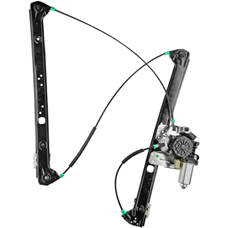 A-Premium Power Window Regulator without Motor Replacement for BMW X3 E83 2004-2010 Rear Right Passenger Side