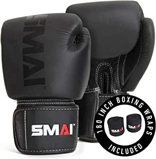 Elite85 Leather Boxing Gloves Plus 180