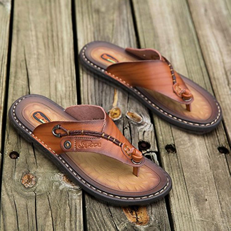 Summer New Sandals Male Beach shoes Korean Plate
