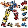 PANLOS STEM Robot Educational Learning Building Bricks Toy Cars Set Vehicles Gifts for Kids Boys and Girls Tight Fit and Compatible with All Major Brands