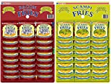 Pancetta patatine fritte 24 x 24 g e Scampi patatine fritte 24 x 27g Pub Card Bundle