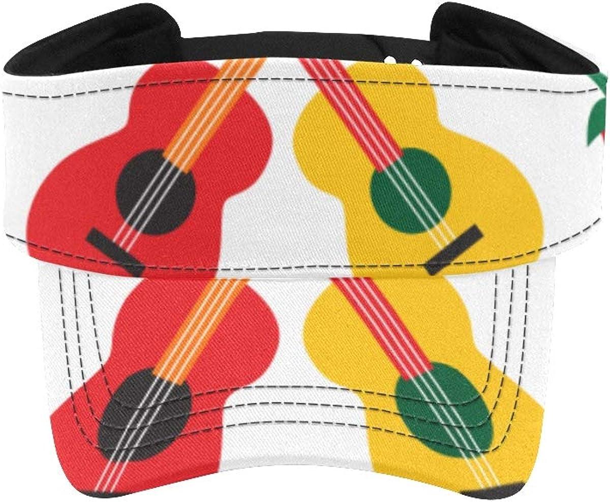 Fancy Visor Hat Guitar Seasonal Wrap Introduction Department store Musical Men Cap Instrument Running