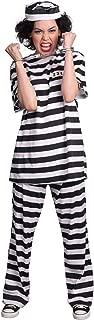 Prisoner Female Costume for Adults