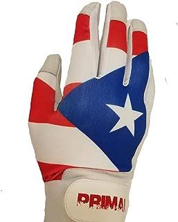 Custom Name Puerto Rico International Baseball Batting Gloves