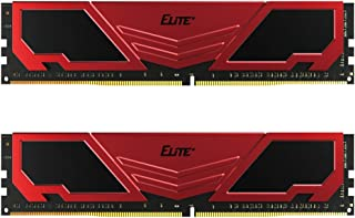 TEAMGROUP Elite Plus DDR4 8GB Kit (2x4GB) 2400MHz PC4-19200 CL16 Unbuffered Non-ECC 1.2V U-DIMM 288 Pin PC PC ذاكرة سطح ال...