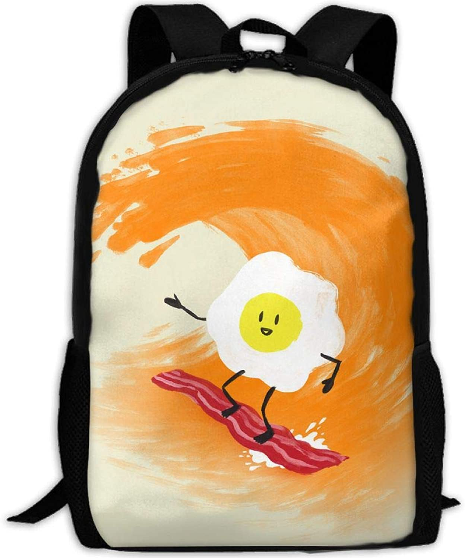 857a014649ac Backpack Laptop Travel Hiking School Shoulder Bags Egg Surfing ...