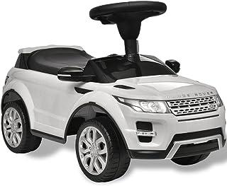 vidaXL Coche de Juguete Blanco con música, Modelo Land Rover 348 Juego niño Infantil