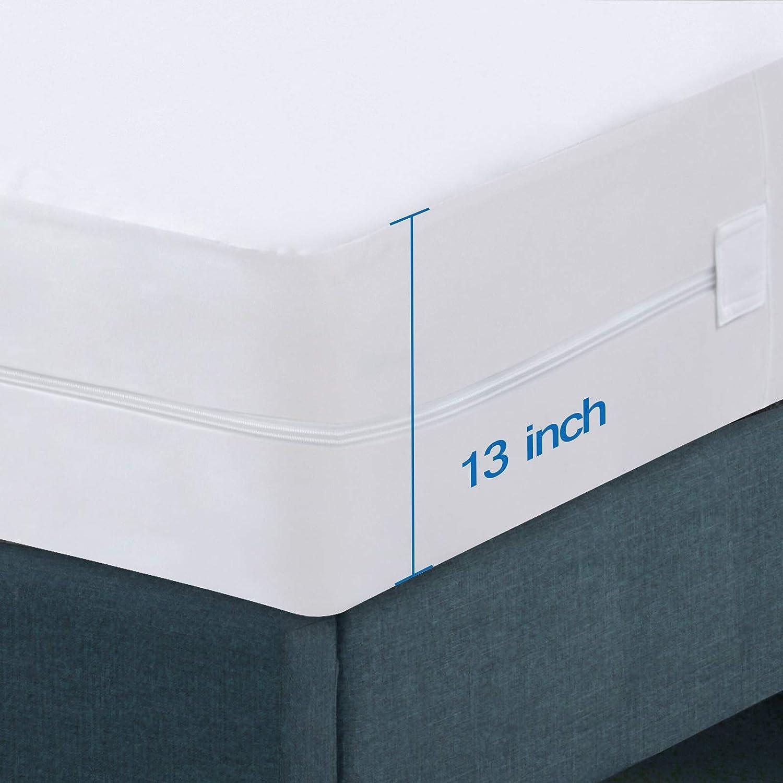 El Paso Quality inspection Mall Premium Zippered Mattress Encasement P Waterproof 100%