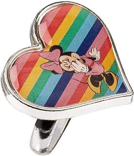 295-704 SIX Anillo Disney Minnie Mouse con arco iris